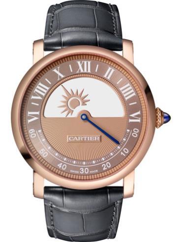 卡地亚ROTONDE DE CARTIER神秘机芯玫瑰金款腕表WHRO0042