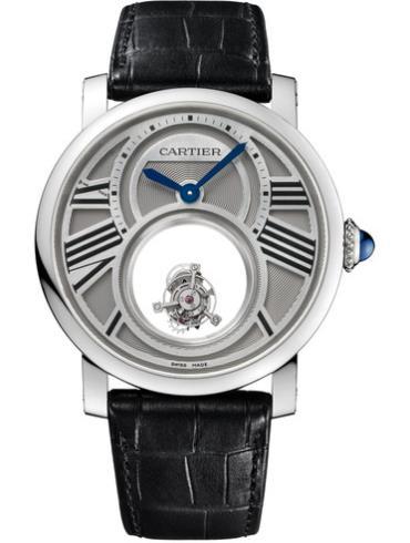 卡地亚Rotonde de Cartier系列W1556210银灰色表盘