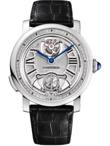 卡地亚ROTONDE系列W1556209银色表壳