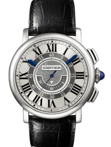 卡地亚ROTONDE系列W1556051黑色表带