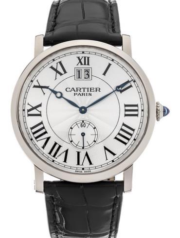 卡地亚Rotonde系列W1550751白金表扣