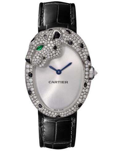 卡地亚PANTHèRE LOVéE腕表HPI01195灰色表盘