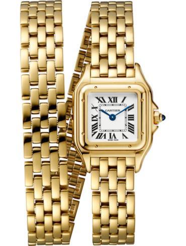 卡地亚PANTHèRE DE CARTIER腕表小号黄金款WGPN0013金色表壳