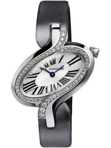 卡地亚Delices de Cartier系列WG800018银色表带