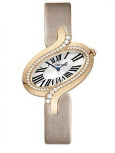 卡地亚Delices de Cartier系列WG800017玫瑰金表扣