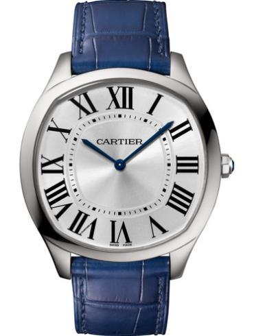 卡地亚Drive de Cartier超薄腕表WSNM0011精钢表扣