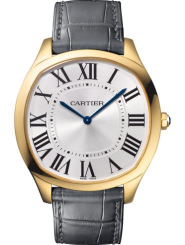 卡地亚Drive de Cartier腕表WGNM0011 18k黄金表扣