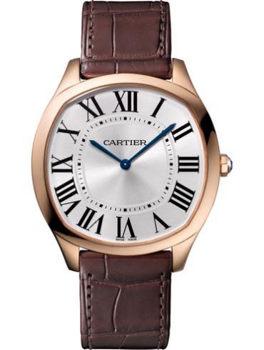 卡地亚Drive de Cartier系列超薄腕表WGNM0006防水深度30m