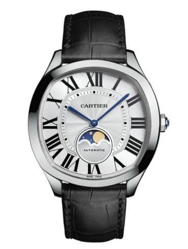 卡地亚Drive de Cartier系列月相腕表WSNM0008防水深度30m