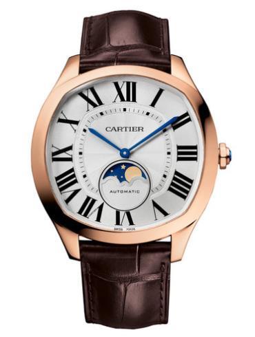 卡地亚Drive de Cartier系列月相腕表WGNM0008防水深度30m