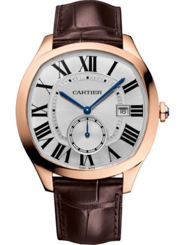 卡地亚Drive de Cartier系列男表WGNM0003白色表盘