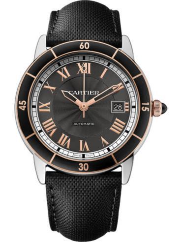 卡地亚Ronde Croisière de Cartier腕表W2RN0009灰色表盘