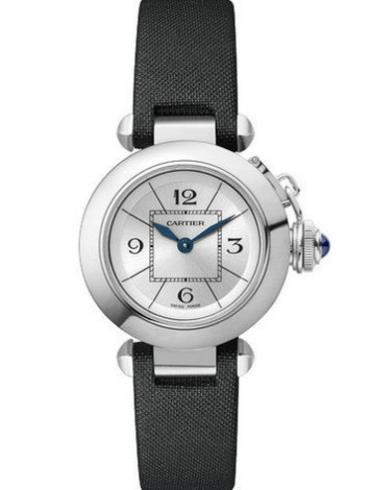 卡地亚MISS PASHA帕莎系列W3140025精钢表扣