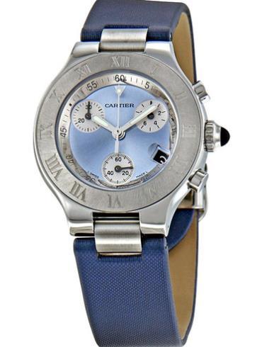 卡地亚21世纪系列W1020013精钢表扣