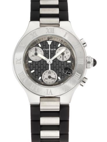卡地亚21世纪系列W10198U2精钢表扣
