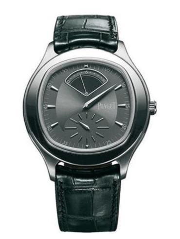 伯爵Black Tie系列G0A34024深灰色表带