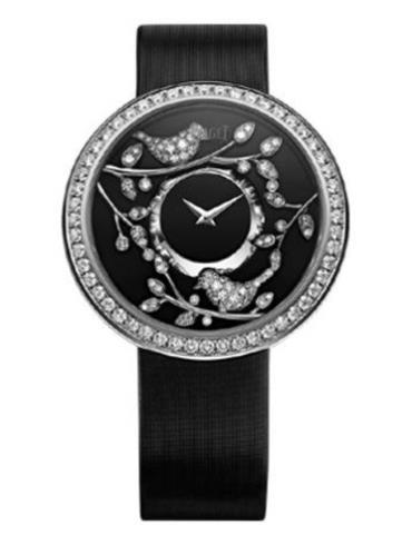 伯爵非凡珍品系列G0A36169黑色表盘