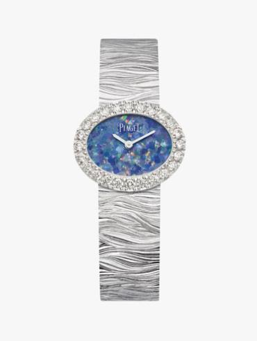 伯爵Extremely Lady腕表G0A43207蓝色表盘