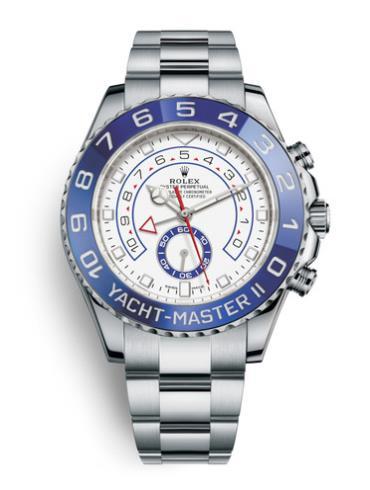 劳力士游艇名仕型II116680-0002银色表带