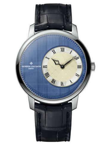 江诗丹顿Métiers d'Art艺术大师系列格子纹腕表1400U/000G-B218