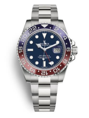 劳力士格林尼治型 II116719BLRO-0002蓝色表盘