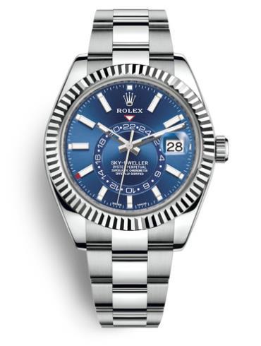 劳力士SKY-DWELLER系列326934-0003蓝色表盘
