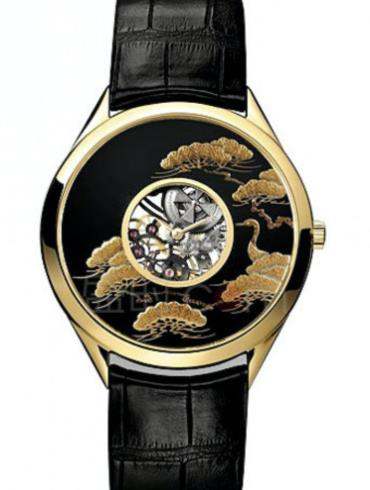 江诗丹顿艺术大师系列33222/000R-9506黑色表壳