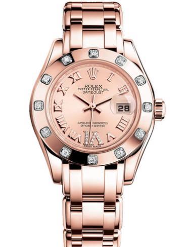 劳力士珍珠淑女型2980315-0011粉色表盘