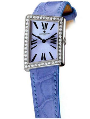 江诗丹顿1972系列25520/000G-8995蓝色表带
