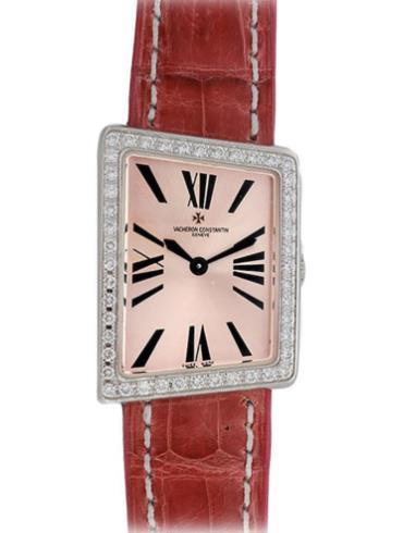 江诗丹顿1972系列25520/000G-8994粉色表带