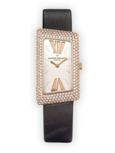 江诗丹顿1972系列25515/000R-9254黑色表带