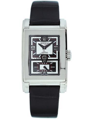 劳力士切利尼系列Prince手表5443/9白金表扣