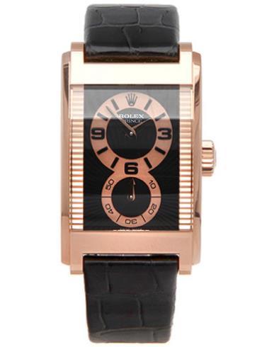 劳力士切利尼系列Prince手表5442/5玫瑰金表扣