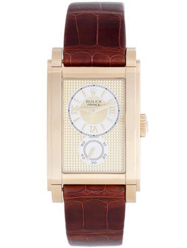劳力士切利尼系列Prince手表5440/8 18k黄金表扣