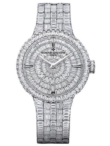 江诗丹顿Traditionnelle高级珠宝腕表25761/QA1G-9945白色表壳