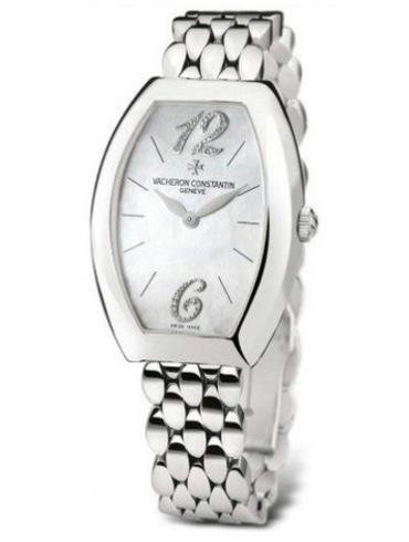 江诗丹顿EGERIE系列25040/344G-9261银色表带