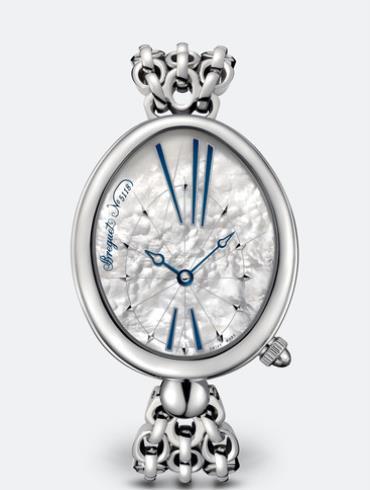 宝玑那不勒斯皇后系列8967ST/51/J50白色珍珠母贝表盘
