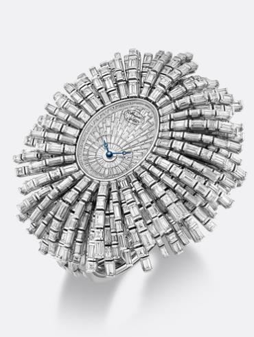 宝玑高级珠宝腕表系列GJ25BB8989/DDDD银色表盘