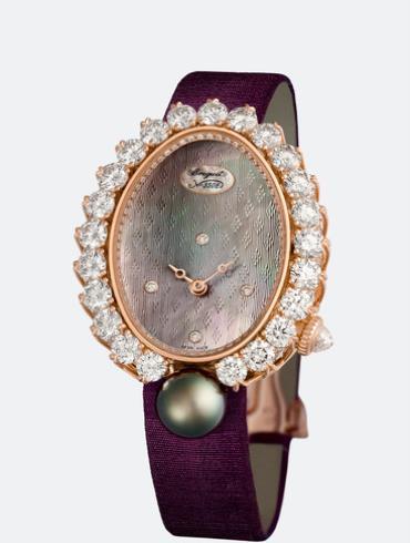 宝玑高级珠宝腕表系列GJ29BR8924TDT8棕色表盘