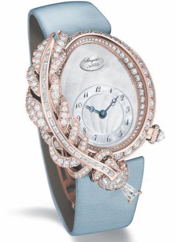 宝玑高级珠宝腕表系列GJ15BR89240DD8白色表盘