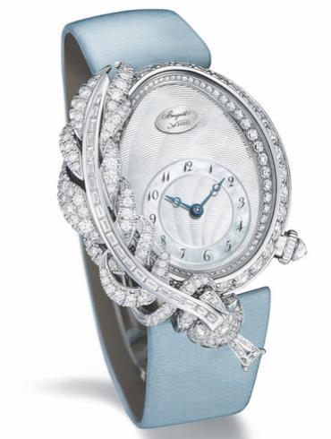 宝玑高级珠宝腕表系列GJ15BB89240DD8银白色表盘