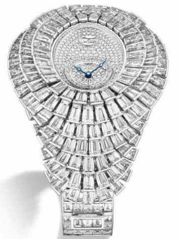 宝玑高级珠宝腕表系列GJE25BB20.8989FB1银色表盘