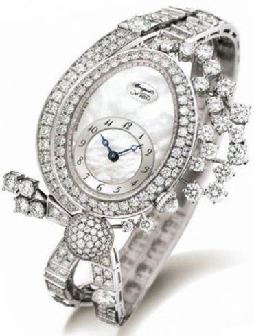 宝玑高级珠宝腕表系列GJE21BB20.8924D01银色表带