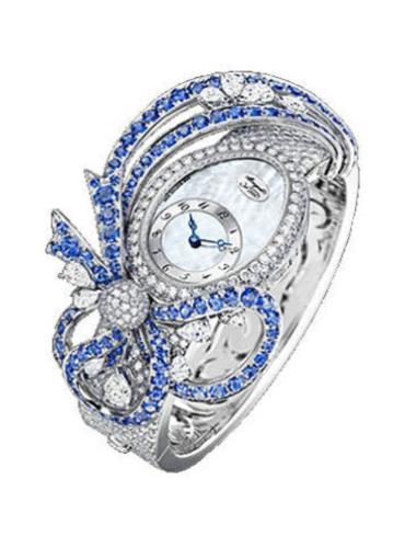 宝玑高级珠宝腕表系列GJE20BB20.8924DS1银色表带
