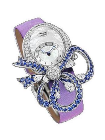 宝玑高级珠宝腕表系列GJE20BB20.8924D01白金表扣