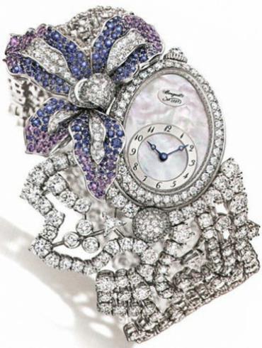 宝玑高级珠宝腕表系列GJE16BB20.8924DS1白金表扣