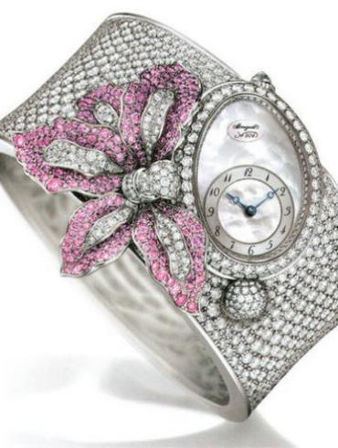 宝玑高级珠宝腕表系列GJE16BB20.8924DR1白金表扣