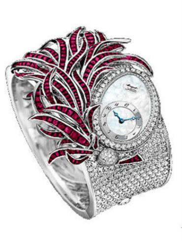 宝玑高级珠宝腕表系列GJE15BB20.8924RB1折叠扣表扣