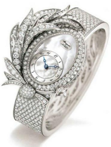 宝玑高级珠宝腕表系列GJE15BB20.8924/M01银色表带