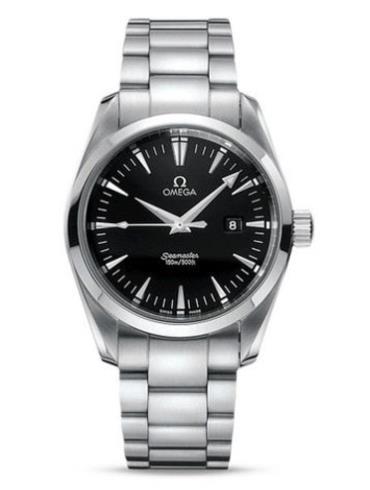 欧米茄海马系列Aqua Terra Quartz2517.5精钢表扣